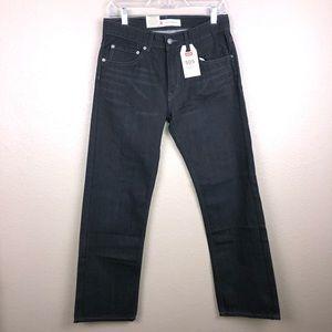 Levi's boys Sz 16 R 505 Black straight leg Jeans